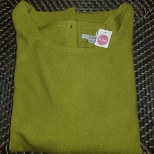 BODEN  Button Back SWEATER